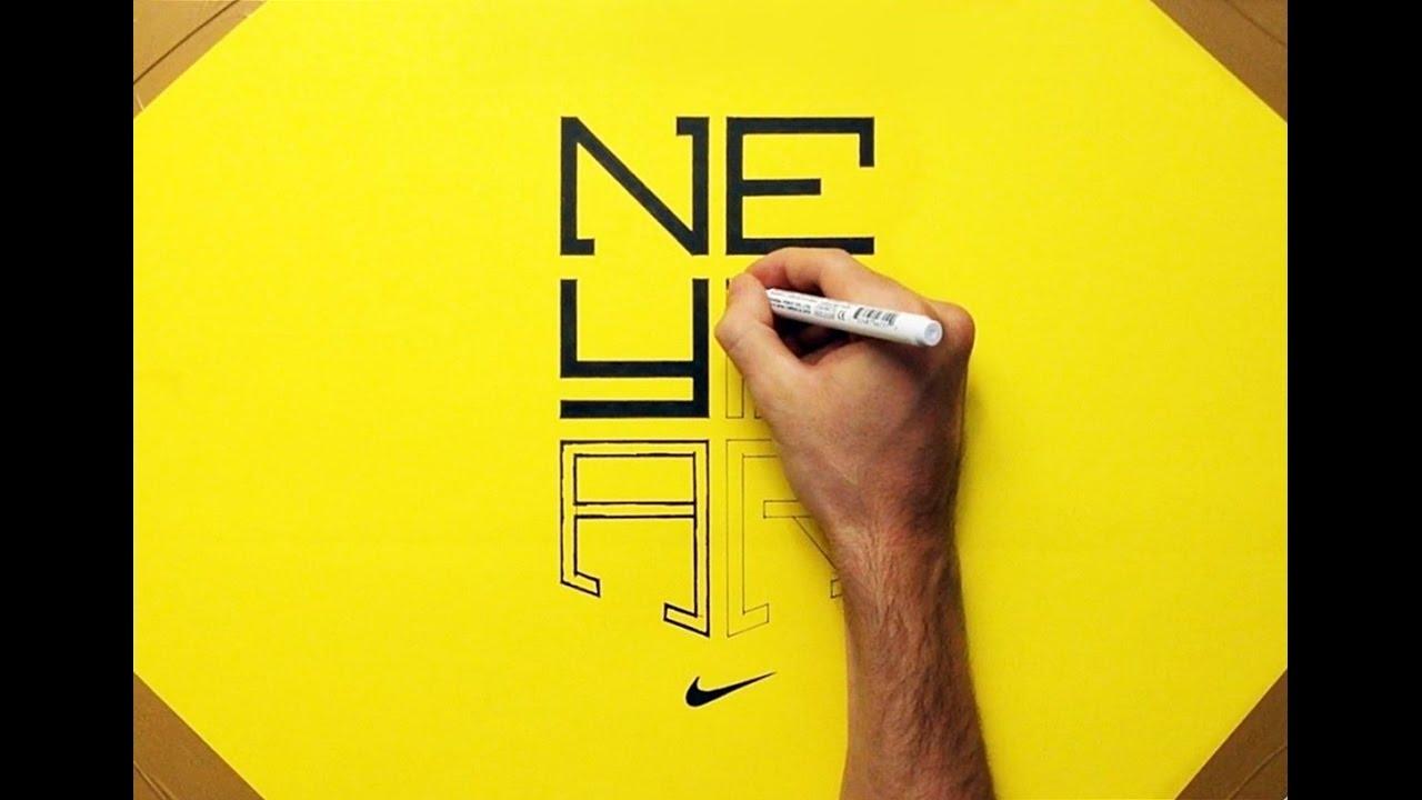 drawing neymar logo how to draw youtube