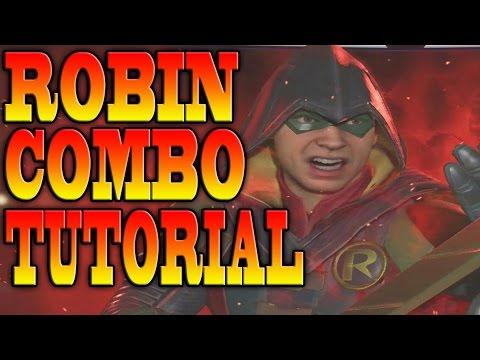 Injustice 2 ROBIN COMBOS - ROBIN COMBO TUTORIAL!