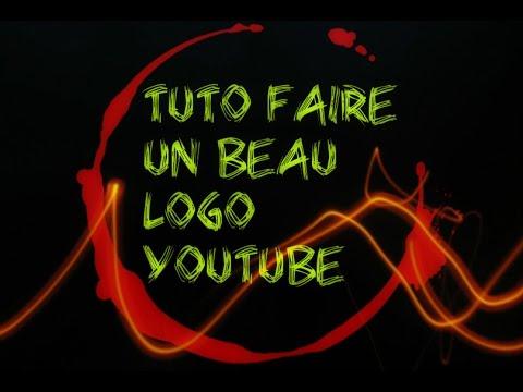 Beliebt Tuto comment faire un beau logo pour sa chaine youtube - YouTube FL44