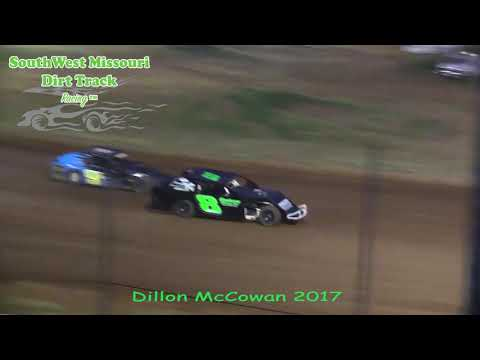 Talented Youth Driver Dillon McCowan, 2017 Dirt Track Racing First Year