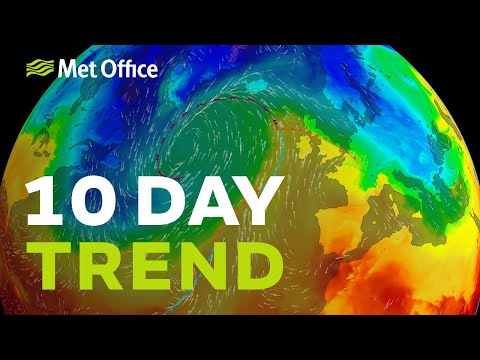 10 Day Trend – New Year, New Weather? 24/12/19
