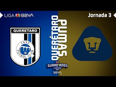 G.B. Queretaro U.N.A.M. Pumas Goals And Highlights