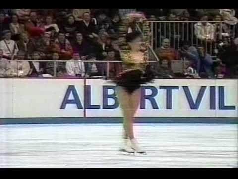 Kristi Yamaguchi (USA) - 1992 Albertville, Ladies' Free Skate
