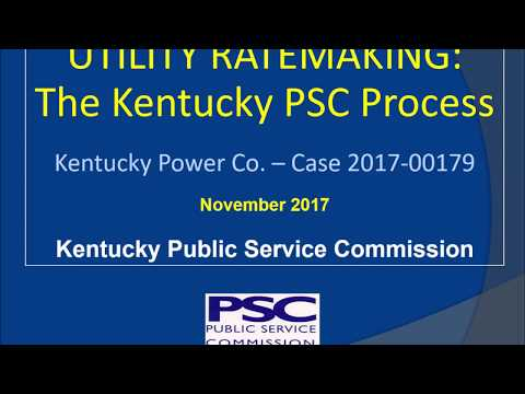 Video presentation - KY Power Rate Case 2017-00179