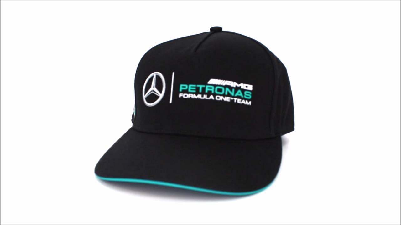 Gorra Plana Mercedes AMG Oficial 2016 Fan - YouTube 2926a7dfda3