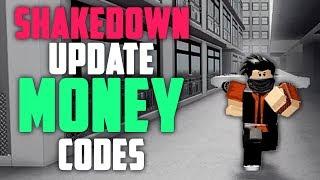 SHAKEDOWN UPDATE MONEY CODES IN ROBLOX VEHICLE SIMULATOR