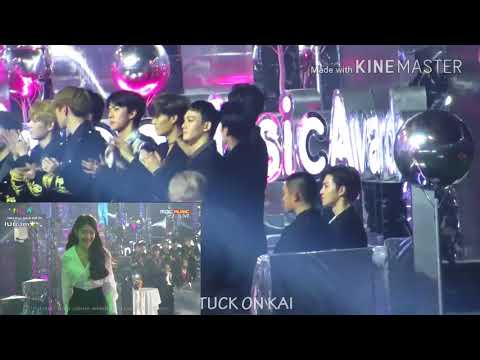 Exo React To IU ( Album Of The Year )