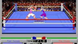 4D Sports Boxing (DOS) - Paul Savage vs The Champ