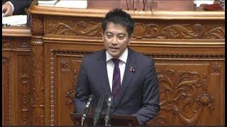 2017年6月2日 参院本会議 辰巳孝太郎議員の質問.