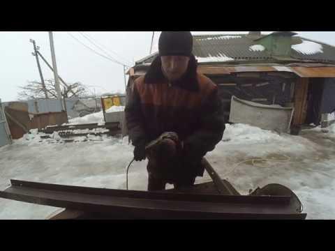 Как работать с проволочной  чашеобразной   щеткой для болгарки