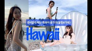 [서영브이로그]계획없이 떠난 하와이나만의 여행법 찾기!