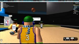 Roblox NBA Hoopz:Game winner fail*laggy server*