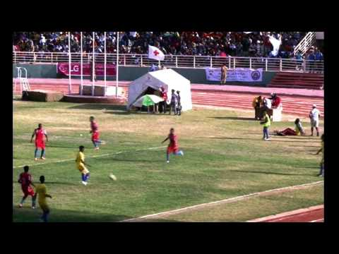 Addis Ababa University(Red) 4 VS 1 Mekelle university(Yellow)