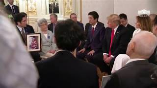 President Trump Participates in a Meeting with Japanese Families of those Abducted by North Korea