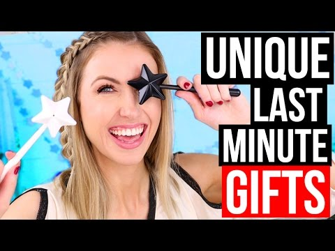 LAST MINUTE GIFTS!!!    Easy & Creative Gifts I Bought off Amazon Prime