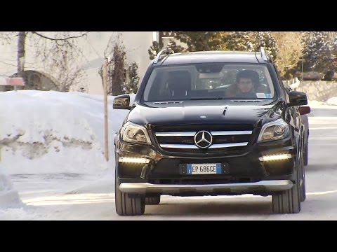 2013 Mercedes GL 63 AMG in the mountain