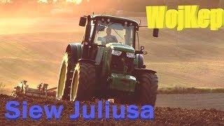 3x John Deere na polu!!! JD6930/JD 6170M/JD 6110MC. Czyli Uprawa i Siew Materiału Bazowego Julius.