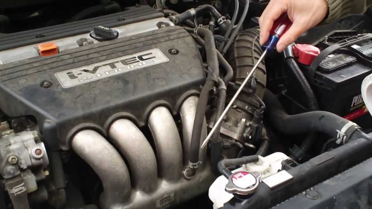2008 Honda Accord 2 4 Engine Diagram Trusted Wiring How To Bleed Air After Coolant Replacement Youtube Rh Com 24 I Vtec Throttle Body
