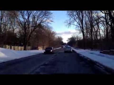 Driving from Rochester Hills, Michigan to Bloomfield, Michigan