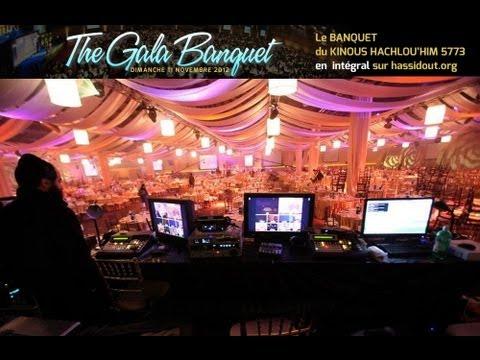 Kinous Hachlouhim 5773 : Les danses au banquet