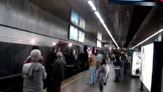 Ação diferenciada do Metrô Rio: Mídia nos Trilhos - Cliente Coca Zero