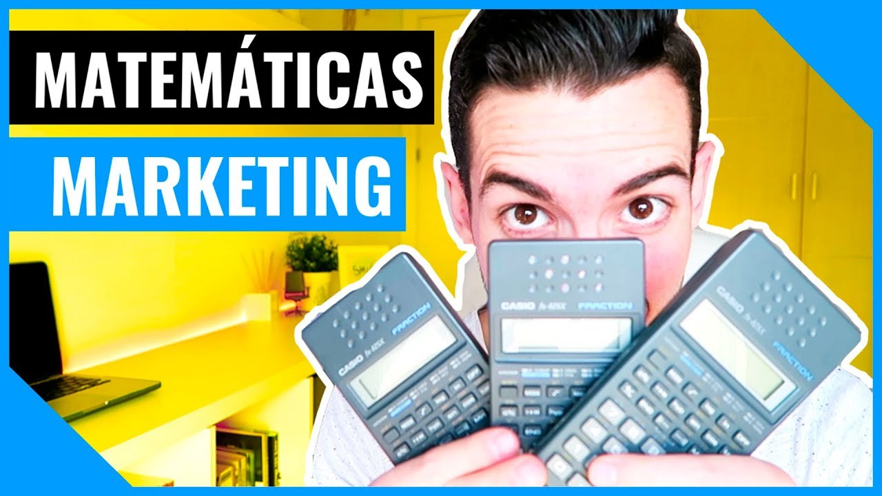 MATEMÁTICAS EN MARKETING - YouTube