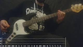 Marilyn Manson - Killing Strangers Bass Cover (Tabs)