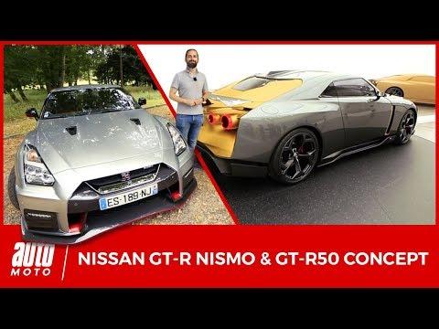 Nissan GT-R Nismo et GT-R50 Italdesign 2018 - TEST + PRESENTATION : les mutations de Godzilla