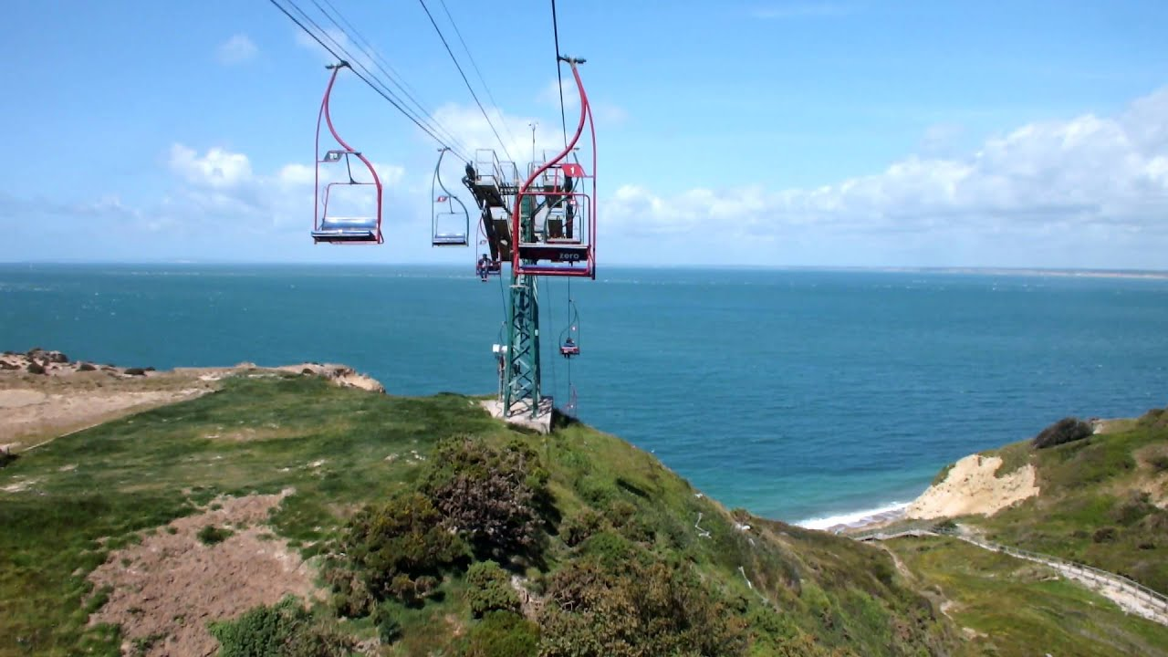 isle of Wight Needles Chairlift 2015