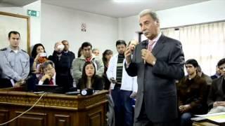"""Sobisch declaró en el juicio por la """"zona liberada"""""""