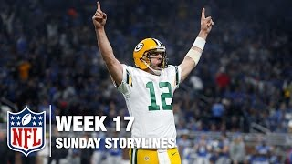 Week 17 Sunday Storylines | NFL Network