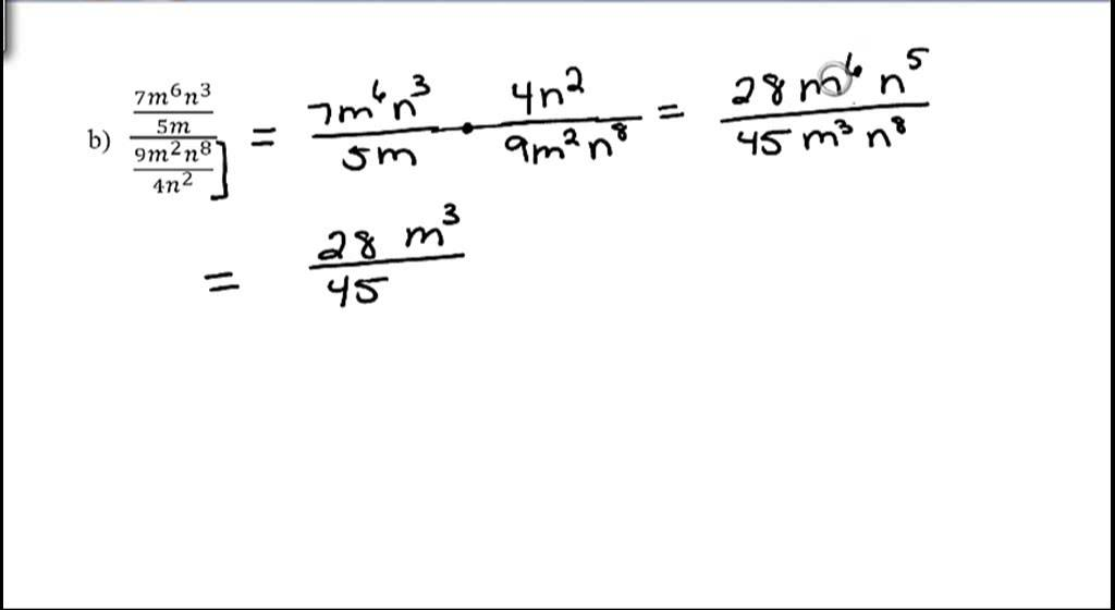 Simplifying Complex Fractions Divide Two Fractions 7 7