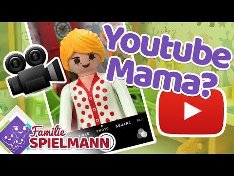 Eine neue Vlog MAMA !!! Wird Astrid der neue YOUTUBE  STAR? l Playmobil Familie Spielmann