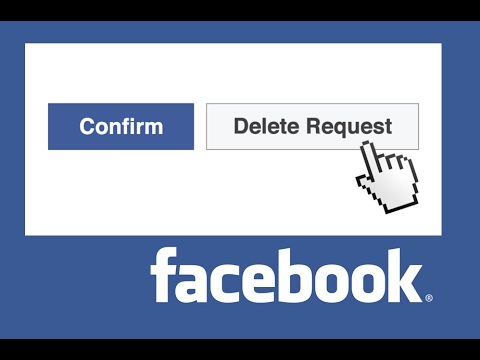 Cancel my friend request on facebook