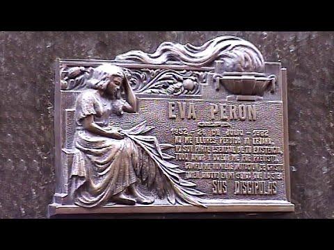 Eva Peron Tomb & Recoleta Cemetery: Buenos Aires, Argentina
