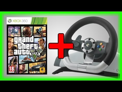 Playing GTA 5 with a Steering Wheel