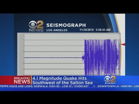 Magnitude-3.9 Earthquake Hits San Diego County.