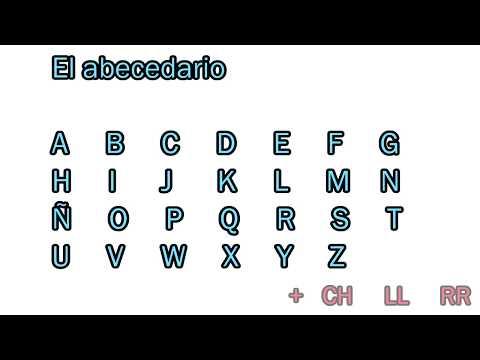 スペイン語の文字と発音をわかりやすく紹介