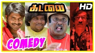 Kadalai Tamil Movie Comedy Scenes | Part 1 | Ma Ka Pa | Yogi Babu | Manohar | Manobala | Aishwarya