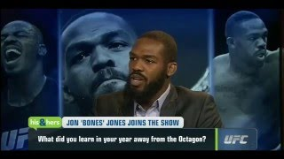 "Jon Jones Talks Being In Jail, Addiction to Marijuana - ""I'm set free"""