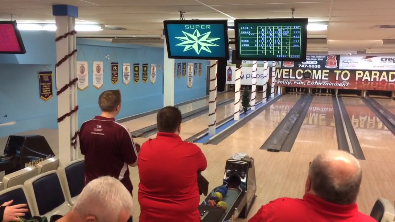 5 Pin Bowling 448 - 10th Frame - YouTube
