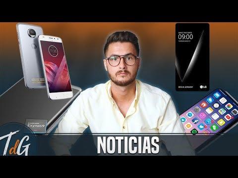 Noticias: Moto Z2 Play a la venta, LG V30 en Europa y más Note 8