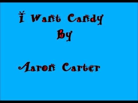 I Want Candy by Aaron Carter (Karaoke Version)