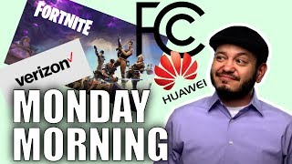Fortnite Security Flaw, VZW vs Firefighters, Mozilla Sues FCC for Net Neutrality, Huawei Woes #SGGQA