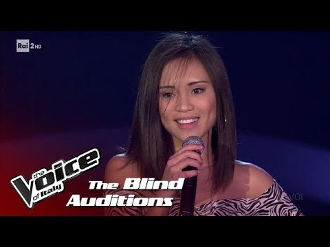 "Kimberly Madriaga: ""Look at me now"" - Blind Auditions - The Voice of Italy 2018"