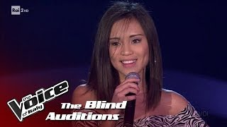 "Kimberly Madriaga ""Look at me now"" - Blind Auditions #1 - The Voice of Italy 2018"