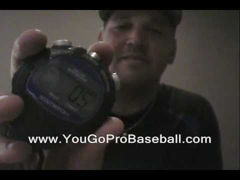 Best Stop Watch with Radar Gun MPH and Pitch Count for Baseball Coaches