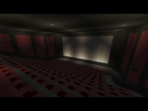 Minecraft Xbox - Cineworld Multiplex Cinema ( Movie Theatre