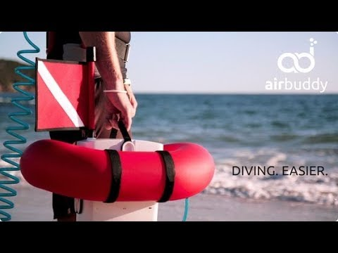 AirBuddy - Tankless Diving