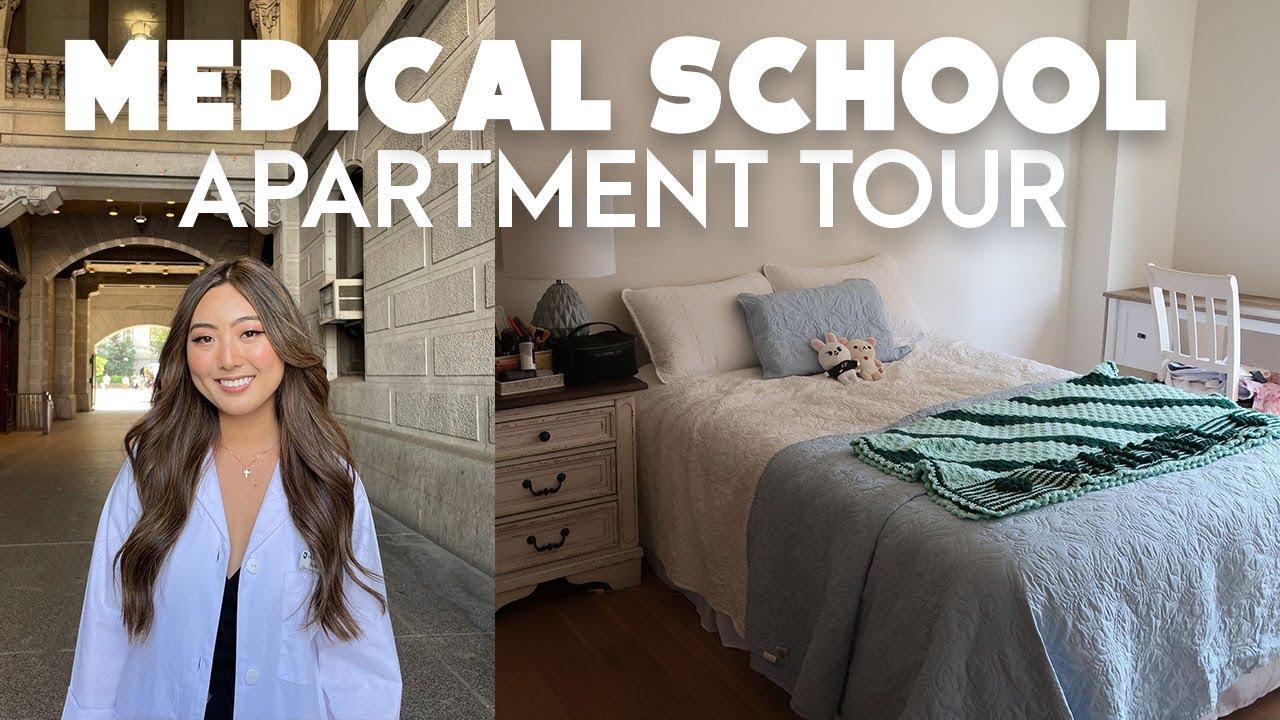 MY MEDICAL SCHOOL APARTMENT TOUR!